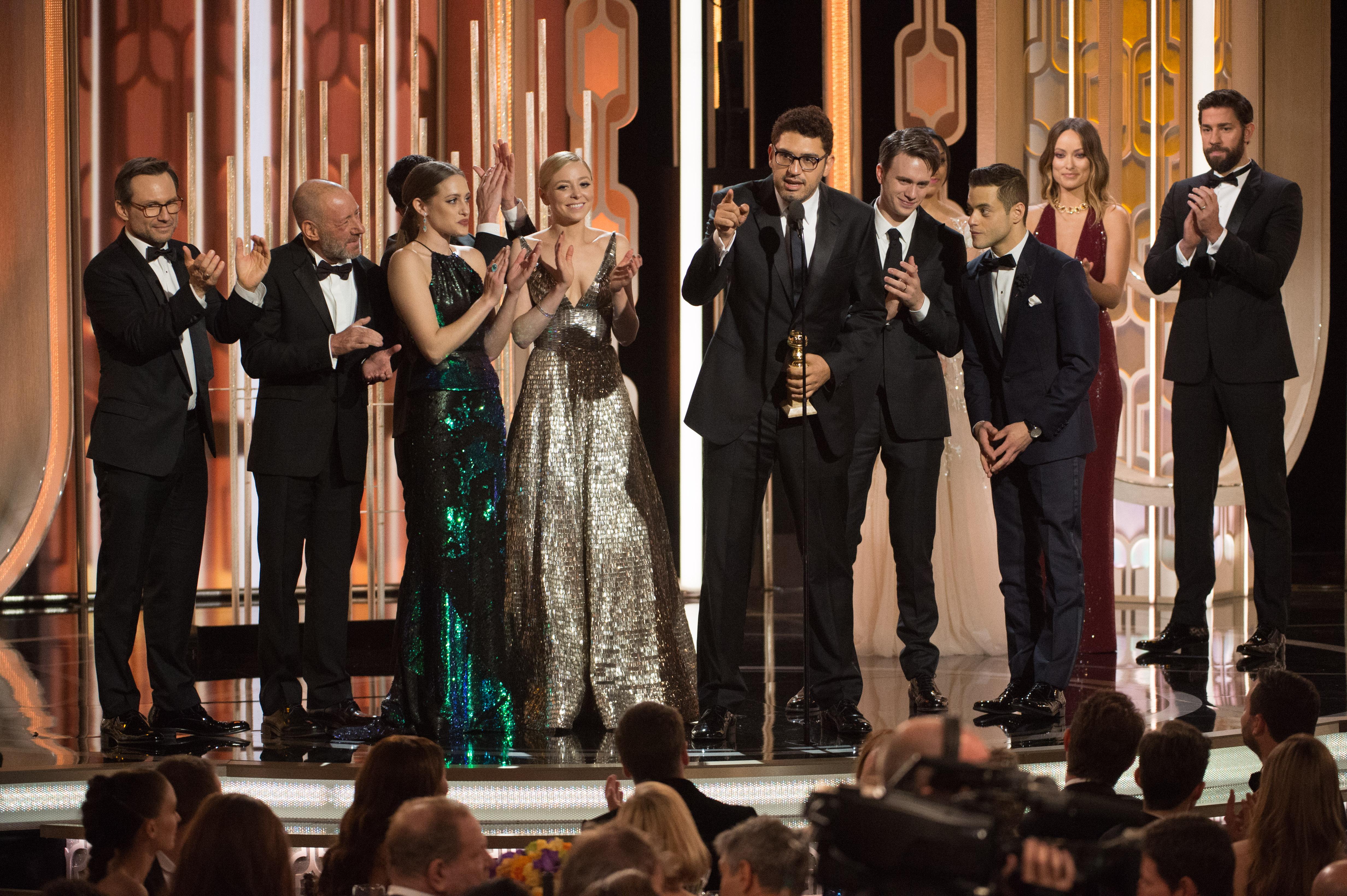 In The 73rd Golden Globe Awards ceremony Dubai Chronicle