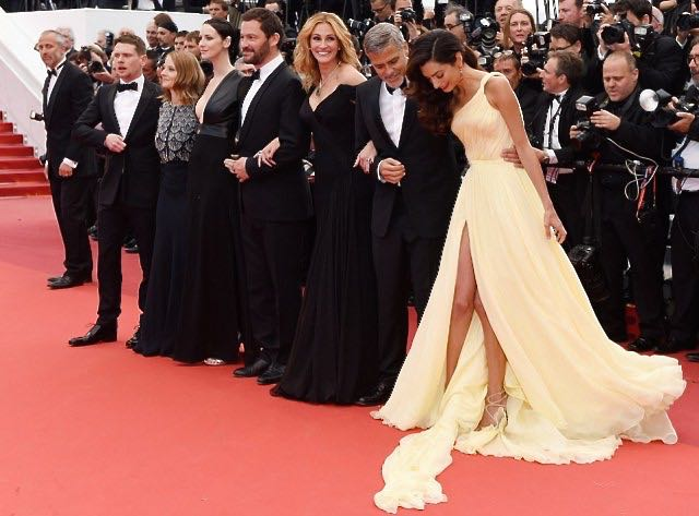 Amal Clooney at The Cannes Film Festival Red Carpet