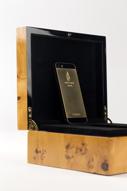 Burj Al Arab iPhone6 24 carat gold-plated