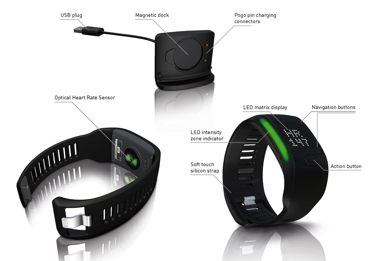 10. adidas miCoach Fit Smart