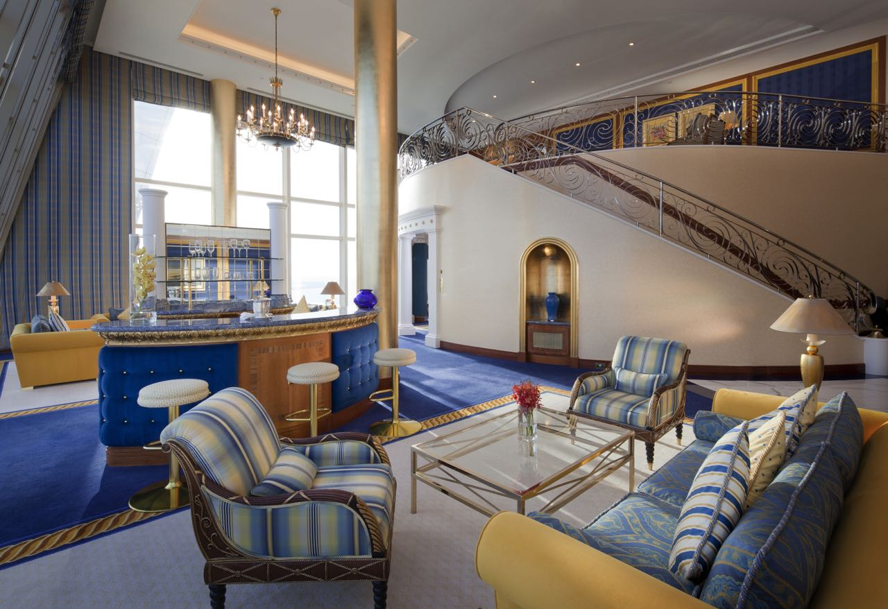 Burj Al Arab - Club Suite -Lower level