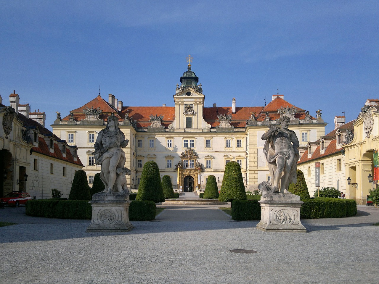 Valtice Castle are located in Moravian wine country