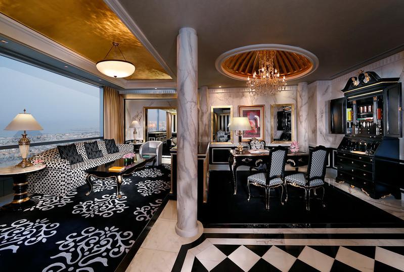 Presidential Suite - Living Area 2