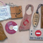 collectors-do-not-disturb-signs