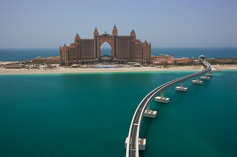 atlantis the palm logo