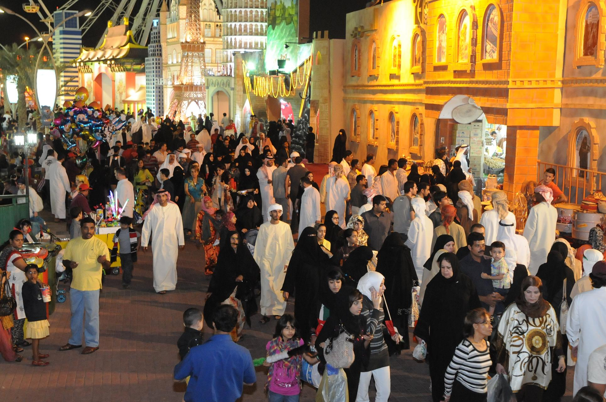 global village tremendous commercial success