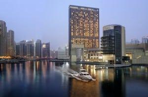 Exterior of The Address Dubai Marina