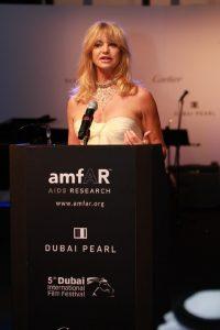 Goldie Hawn at amfAR 2008