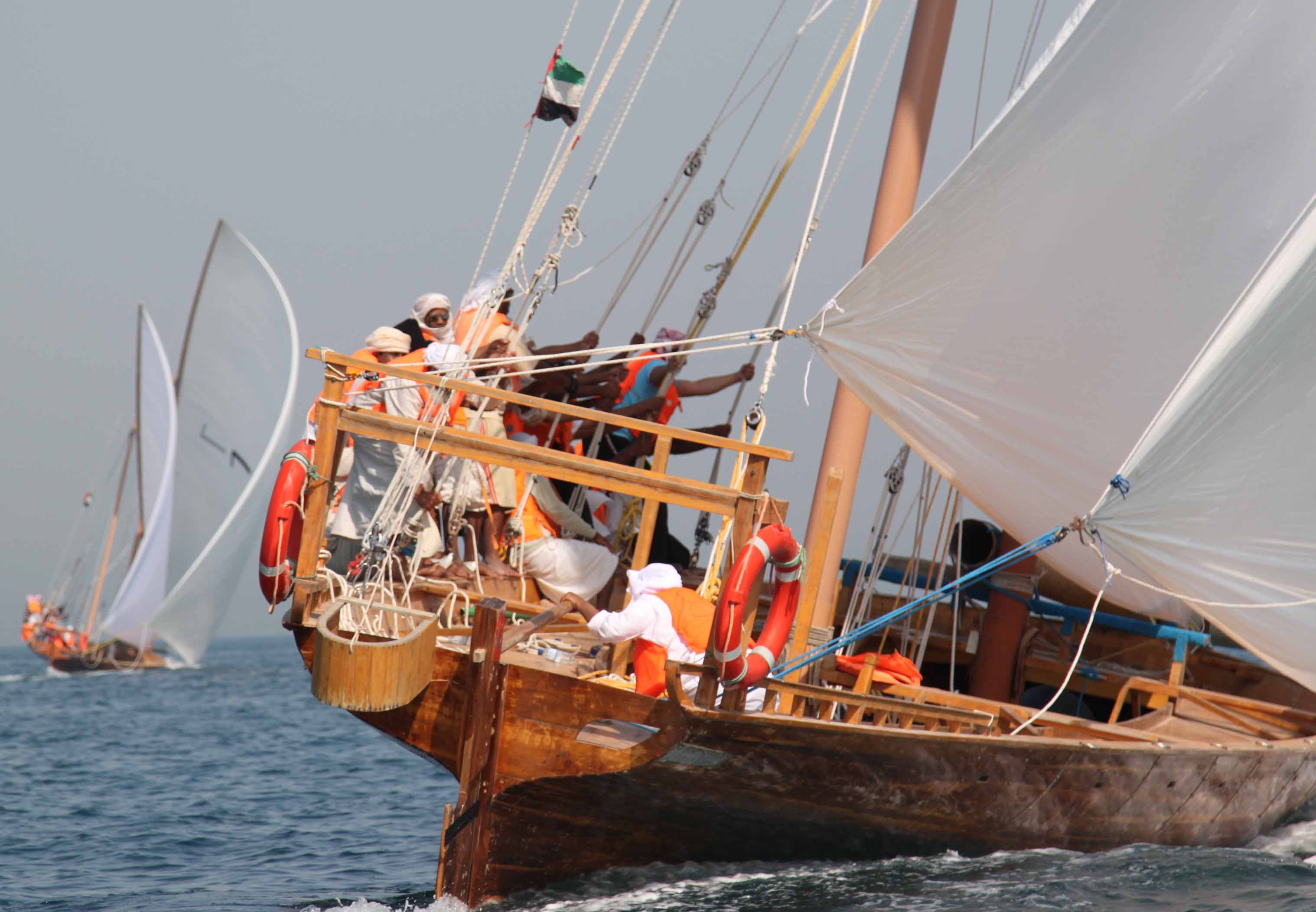 Dubai regains its position as shipbuilding and maritime centre for The sail dubai