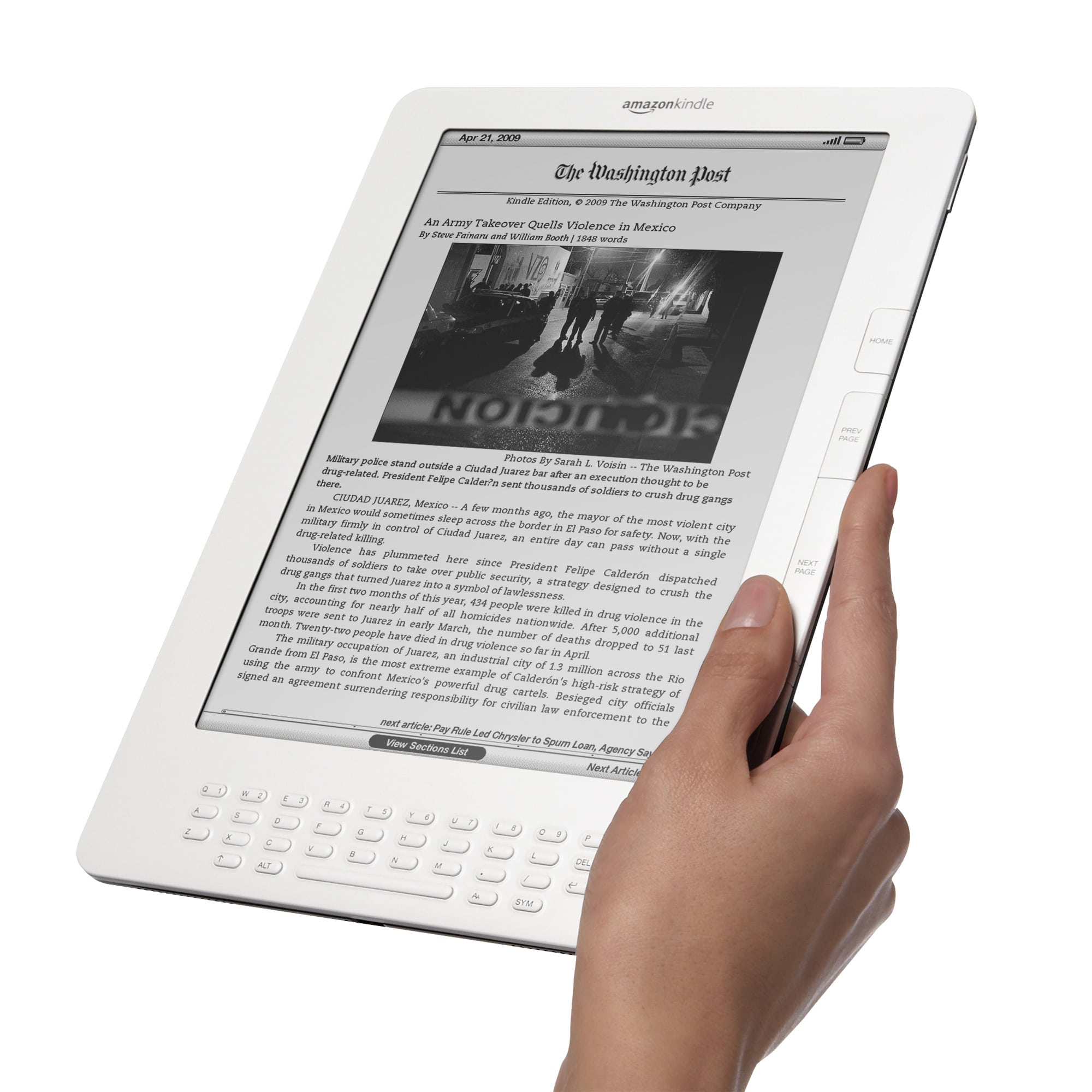 how to use a kindle for the first time