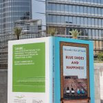 Dubai Public Library celebrates new identity  with huge 'book' displays