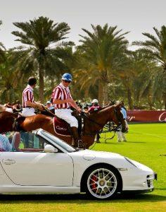 Porsche sponsors Cartier Int'l Dubai Polo Challenge 1 low res