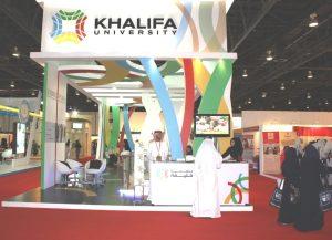 Khalifa University stand at GETEX 2010