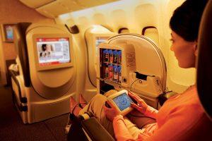 ICE First Class Screen Boeing 777-300ER