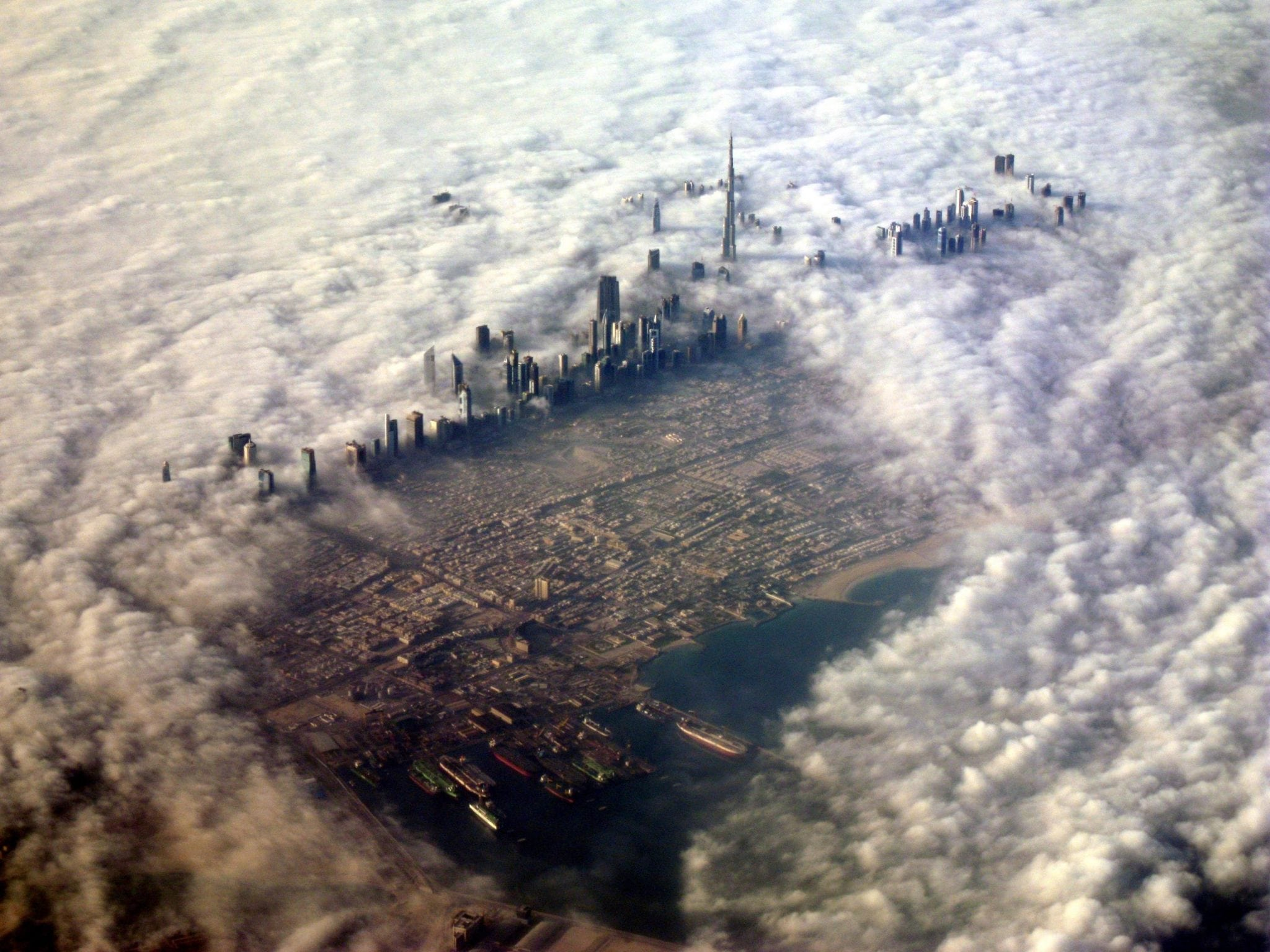 Winning Entry from UAE jpg - fog covered Dubai.