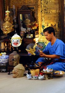 Thailand - Khon Mask Making, Phra Nakhon Si Ayutthaya
