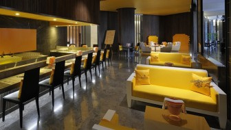 Yellow Lounge at The Address Dubai Marina