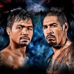 Catch the Best Welterweight Boxing Fight LIVE on eVision  Pacquiao VS. Margarito
