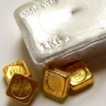 Gold gained 0.3% for the week, Silver lost 4.4%