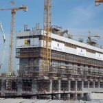 Construction continues at Dubai Pearl
