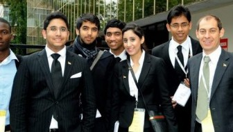 UAE's team at 'World Schools Debating Championship'