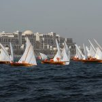 Traditional 22ft Dhow Sailing Race at DIMC