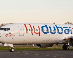 FlyDubai (JXB) 737-800 YR014-3868 Landing Taxi