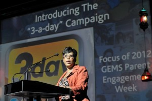 Dr. Karen Mapp Presents at GEMS Parental Engagement Week