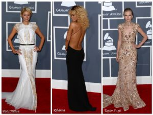 Best Dressed at the Grammys - Rihanna, Paris Hilton,Taylor Swift