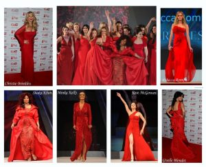 Ladies in Red Dresses