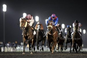 Dubai World Cup -  race 3 finish
