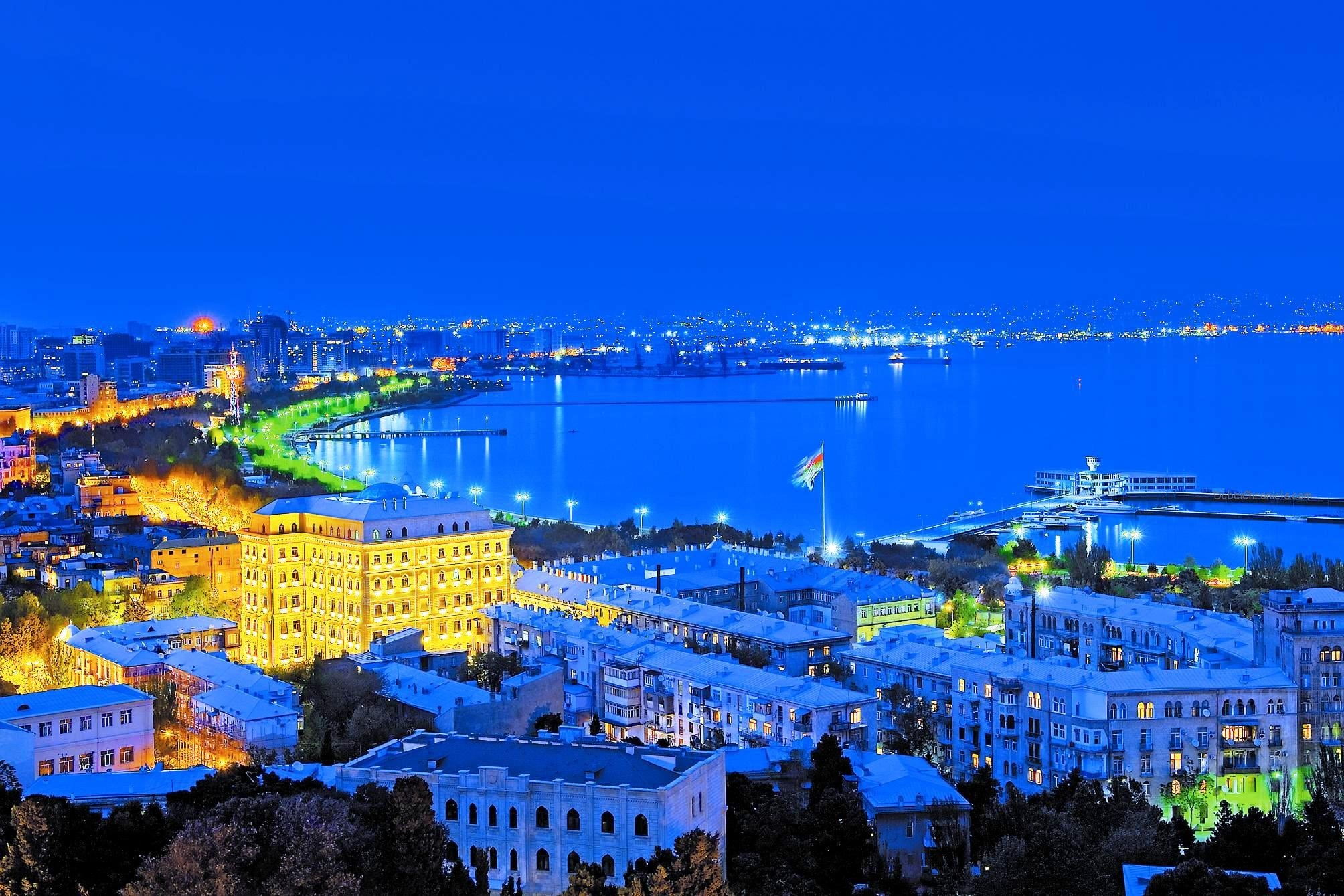 Baku - night view