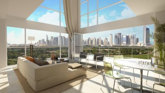 Stunning views of Dubai skyline from every room