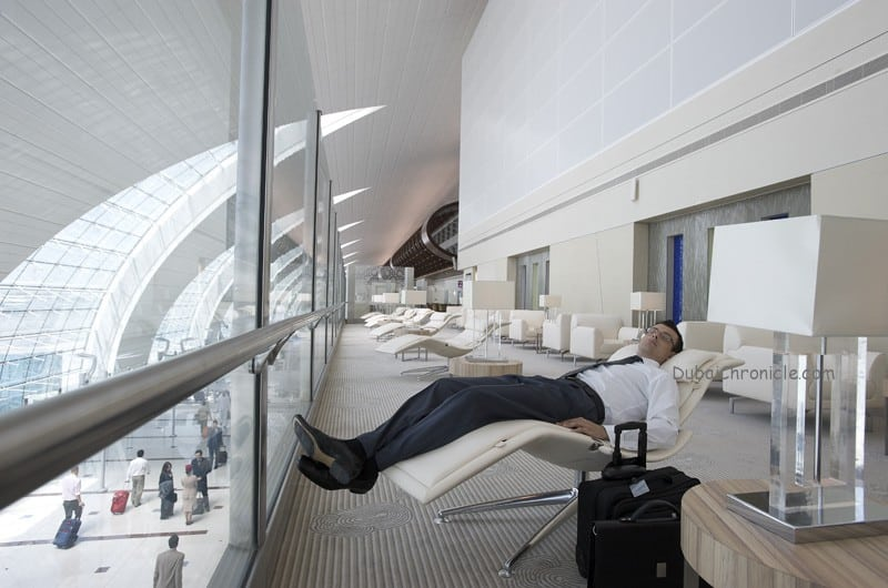 Dubai international T3 Business Class Lounge