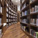 The new Zayed University Campus library