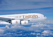 Emirates Airbus 380 operates double daily from Jeddah to Dubai