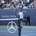 Emirates Airline 'Hello Tomorrow' brand promise at 2012 US Open