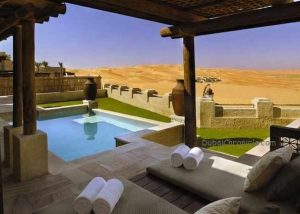 Morning-outlook-from-private-pool-Qasr-Al-Sarab-Abu-Dhabi