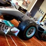 Abu Dhjabi gears up for F1; Shows off Mercedes AMG Petronas