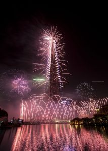 New Year's Celebrations 2012 Downtown Dubai