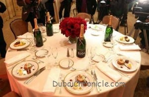 Golden Globes 2013 Dinner Menu Preview