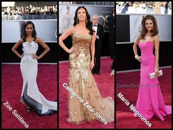 Oscars 2013 - Best Dressed Gergana's Choice
