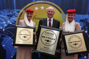 Image 1 Emirates Skytrax Awards Paris Air Show 2013-14