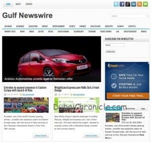 Gulf Newswire Screen