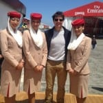 Tom Cruise And Son Take Inspiration from Emirates Team New Zealand's Race of Louis Vuitton Cup