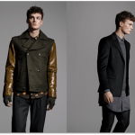 Contrasting Shapes, New Tailoring Characterize Men's Autumn Fashion 2013