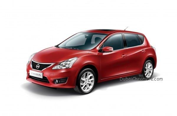 Nissan Tiida_Front  angle