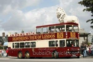 Open-top City Tour Bus, London