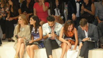 Lina Saman at Fashion Forward Dubai