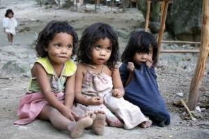 Poor-children